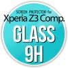 Szkło ochronne screen protector GLASS 9H do Sony Xperia Z3 Compact Tempered Glass Screen Protector