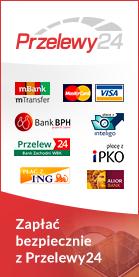 Przelewy24 - Bezpieczne płatności internetowe